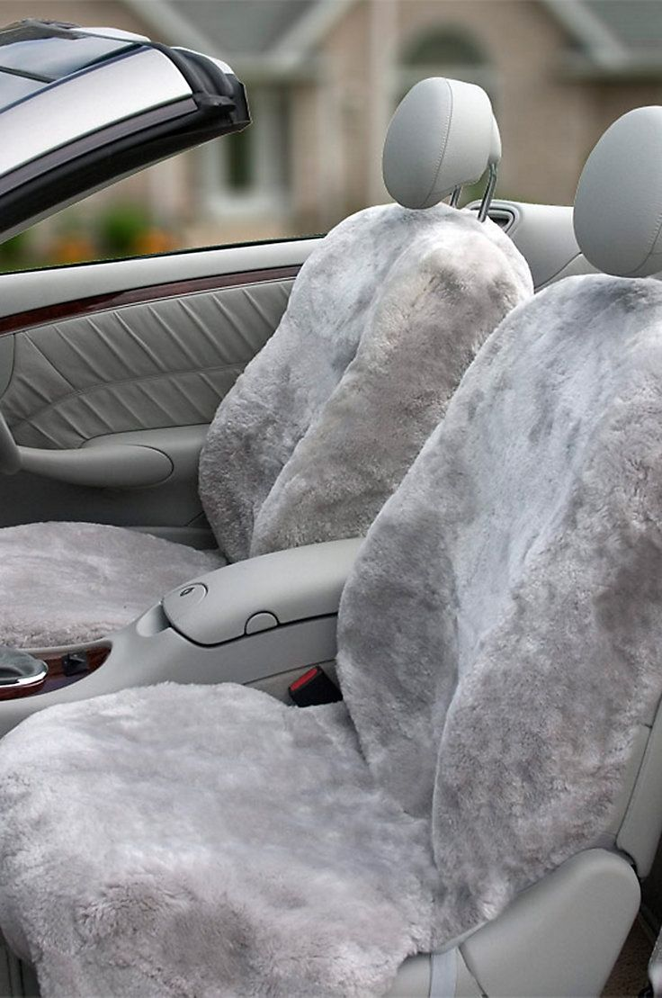 These sheepskin seat covers get awesome reviews!