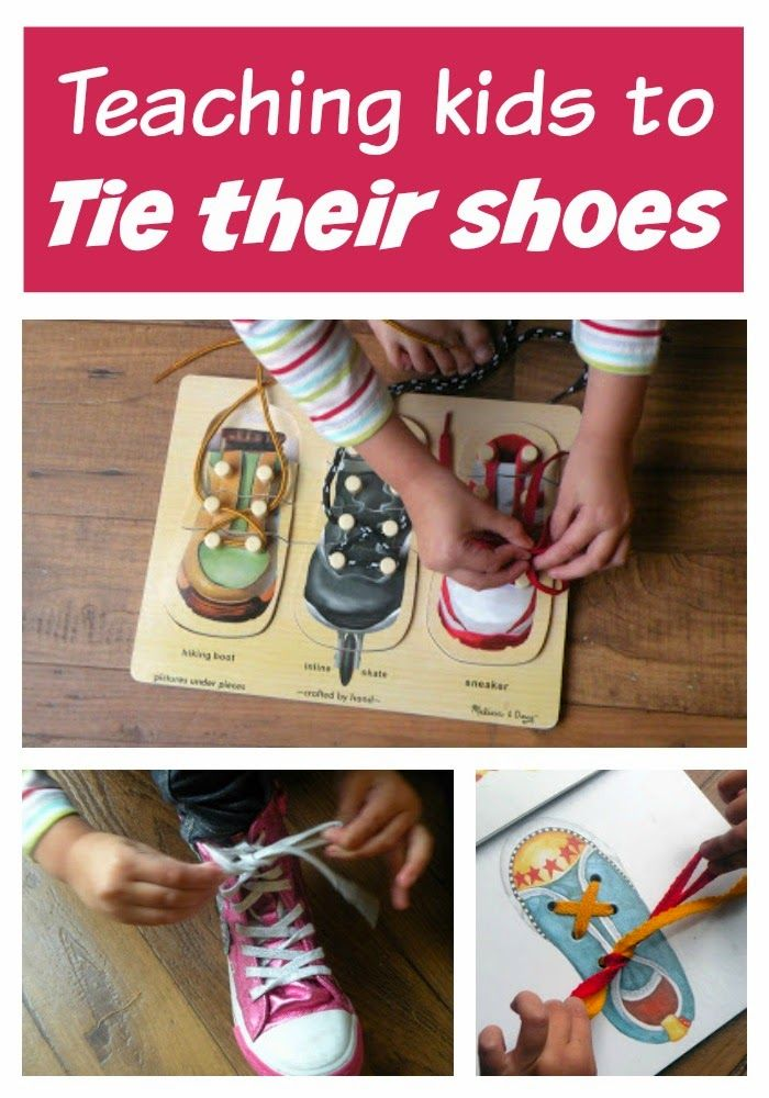 Toddler Approved!: Teaching Kids to Tie their Shoes