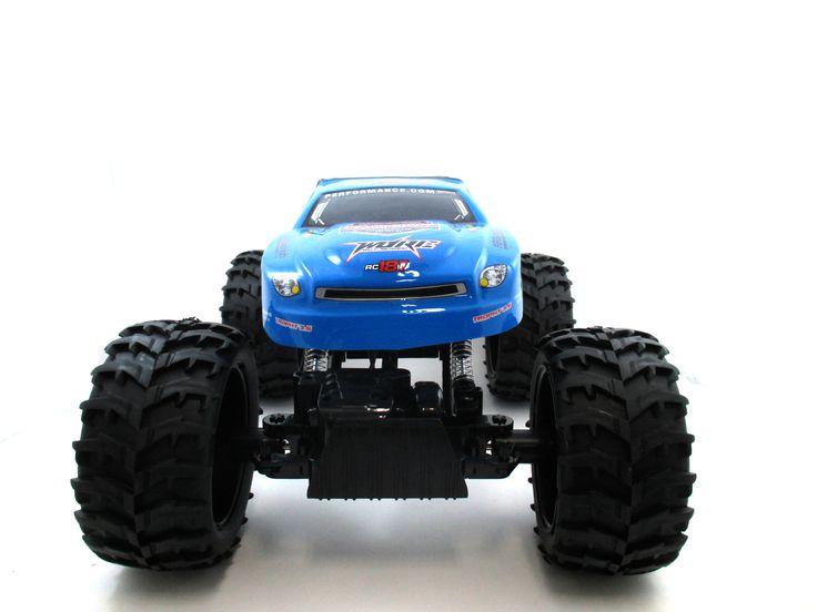 "15"" 1:10 RC Crawler King 4WD Radio Control MC07B Blue"