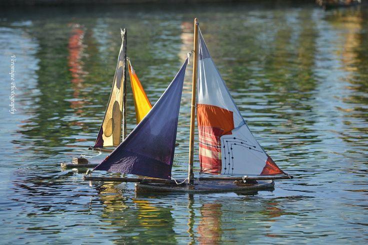 Les petits bateaux du Jardin des Tuileries
