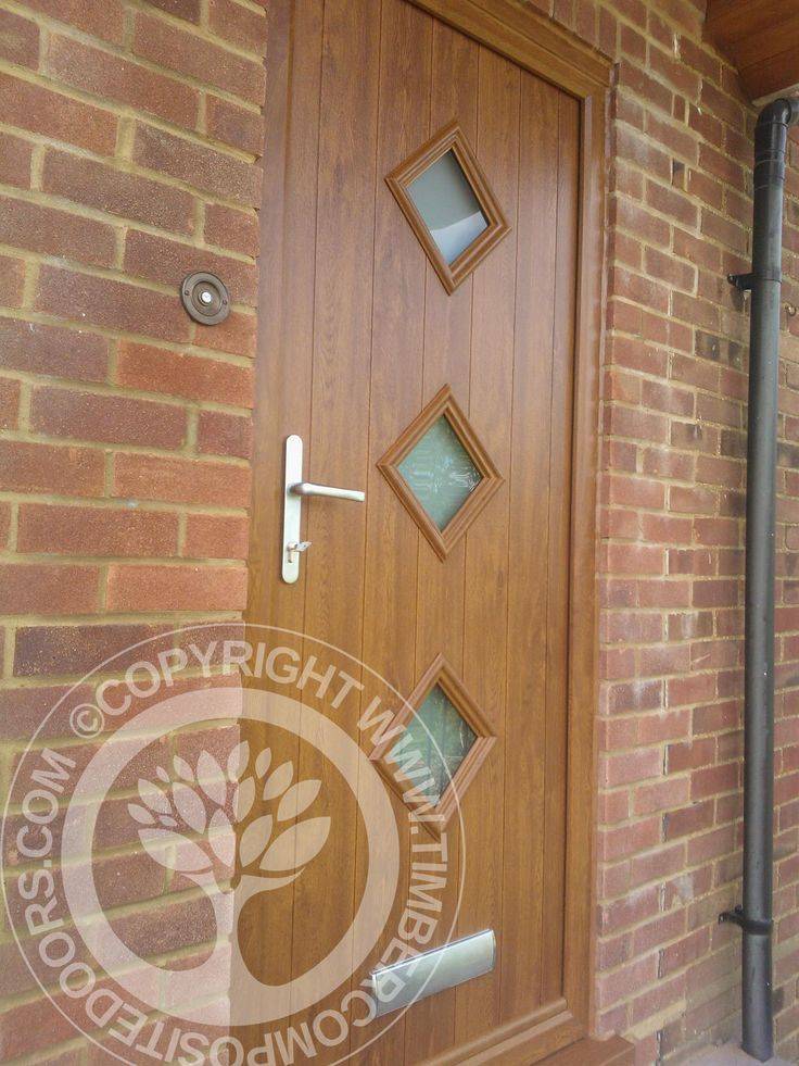 Beautiful Golden Oak Roma Italia Collection Solidor Composite Door fitted in June 2014  #solidor #timbercompositedoors #compositedoors