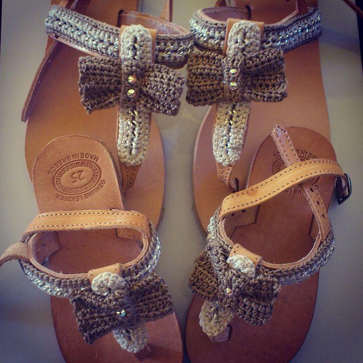 """Bon-Bon"" Handmade Sandals"