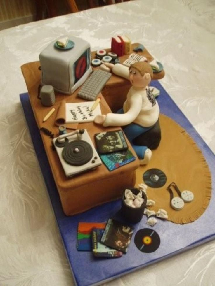 Computer Guy on Cake Central