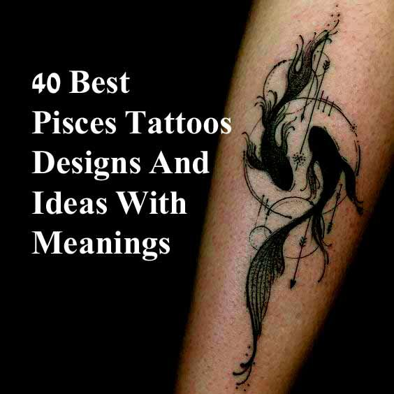 Best pisces tattoos designs and ideas