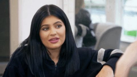 New trendy GIF/ Giphy. kylie jenner keeping up with the kardashians kuwtk huh wut. Let like/ repin/ follow @cutephonecases