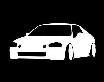 Honda Del Sol decal
