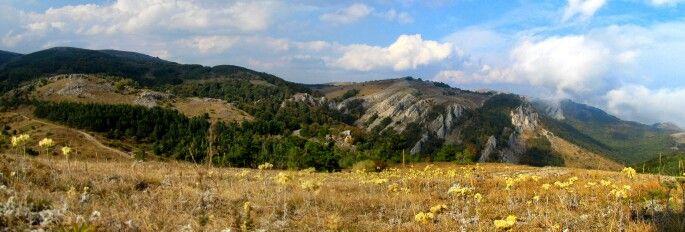 плато Димер-Джи ,Крым