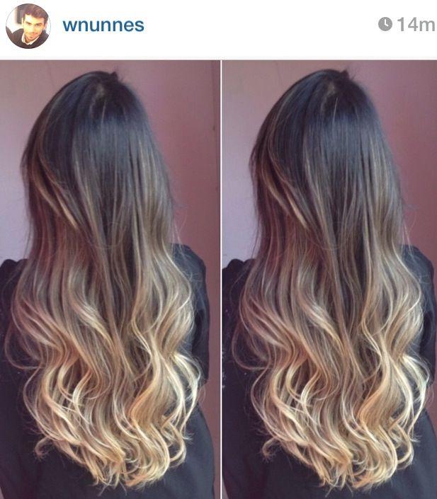 Ombré hair para Morenas