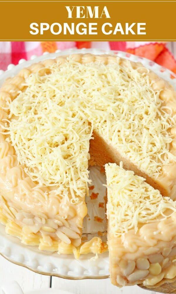 Yema Cake Recipe Filipino Food Dessert Yema Cake Cake Recipes For Kids