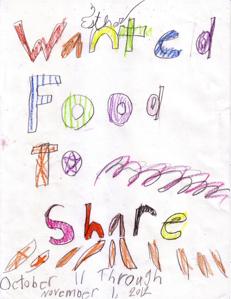 Wanted: Food to Share!