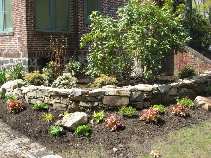 In These Next Photos You Can See We Used Both Stacked Stone As A