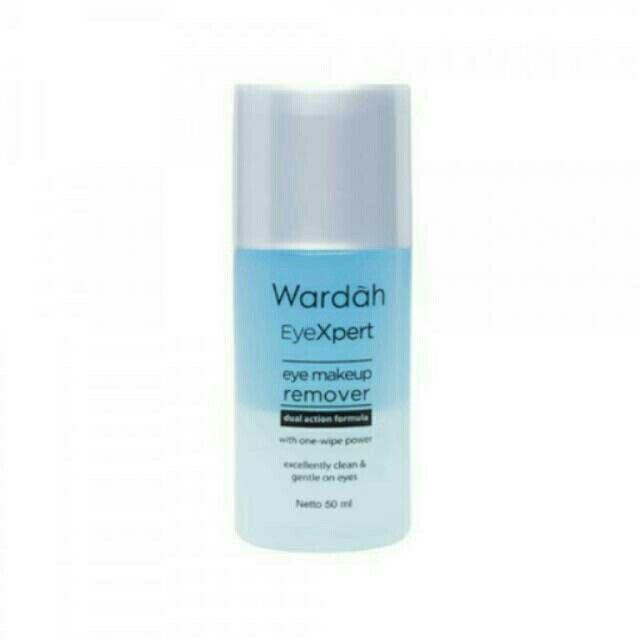 Saya menjual Wardah EyeXpert Eye Makeup Remover seharga Rp35.200. Ayo beli di Shopee! https://shopee.co.id/cosmetic_hq/144844359