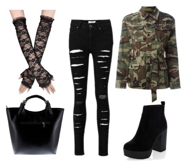 """MORO'S"" by dorothablog on Polyvore featuring moda, Yves Saint Laurent i Massimo Castelli"