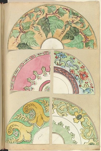 Alfred Henry Forrester [Alfred Crowquill] | Five Designs for Decorated Plates | The Met