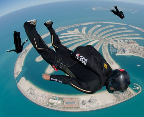Parachuting Championships 2012 Dubai