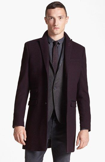 The Kooples Peak Lapel Top Coat | Nordstrom