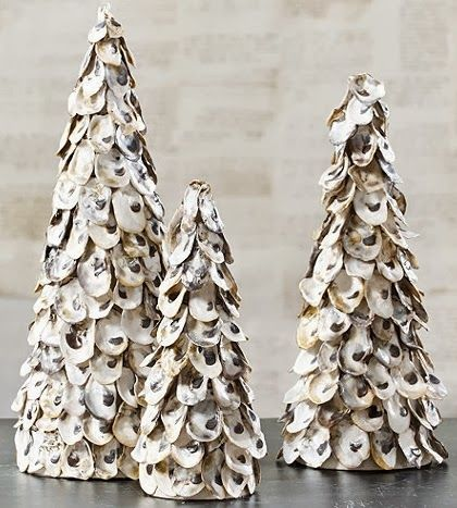 oyster shell trees