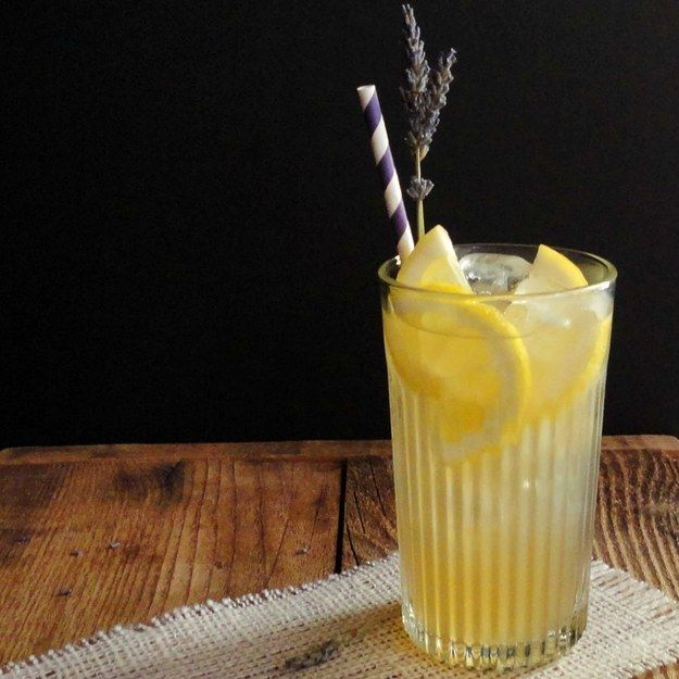 Lavender Honey Lemonade   16 Honey Recipes You Didn't Know You Needed This Summer