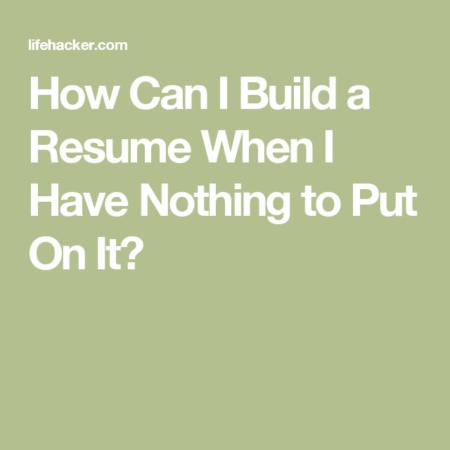 Best 25+ Build a resume ideas on Pinterest Writing a cv, Resume - resume build