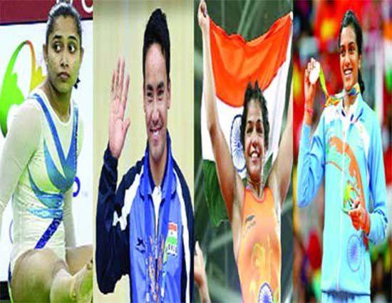 रियो ओलंपिक में रजत पदक जीतने वालीं बैडमिंटन स्टार पीवी सिंधू, कांस्य पदक जीतने…
