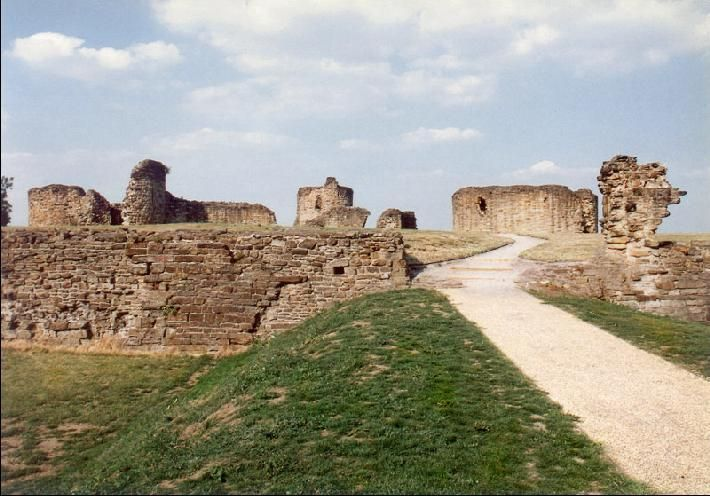 Flint Castle In the town, Flintshire, northeast Wales :  Text copyright © 1996 by Lise Hull Photographs : 2002 by Irma Hale