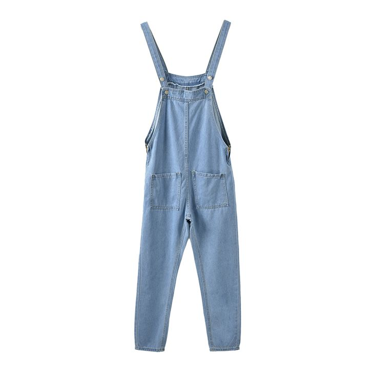 Cheap long romper, Buy Quality fashion romper directly from China overall romper Suppliers: 2018 new women's fashion sexy empire waist fit casual baggy loose jeans denim overalls pants jumpsuit long romper