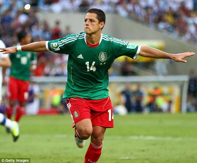 Javier 'Chicharito' Hernandez struck from the spot to equalise for Mexico in the first-half