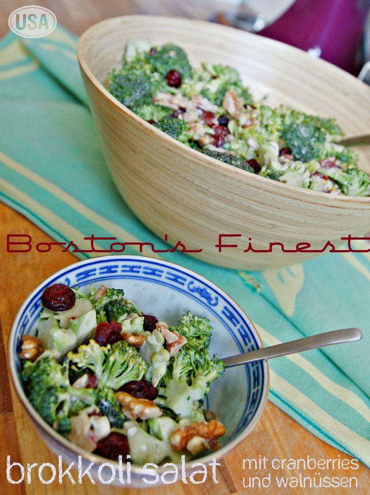 Bostons Finest Brokkoli Salat