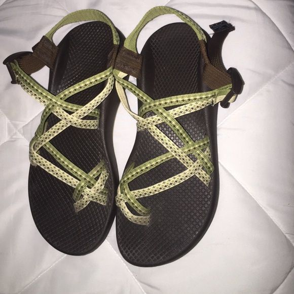 Chacos Green Chacos for sale! I believe they are size 8. They have been worn but are in great condition considering. Chacos Shoes Sandals
