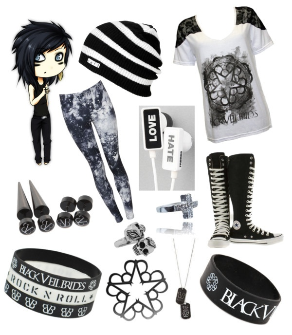 """BVB *-*"" by karine-biersack ❤ liked on Polyvore"