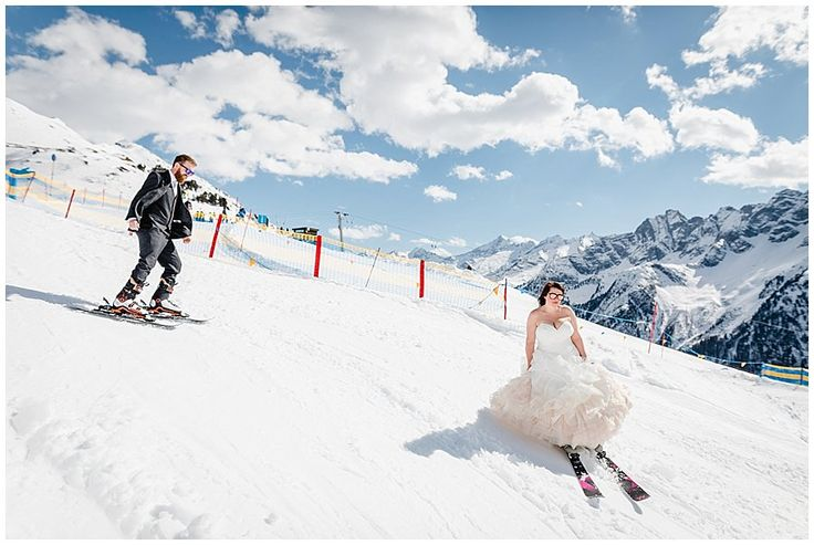 A First Ski Replaces The First Dance