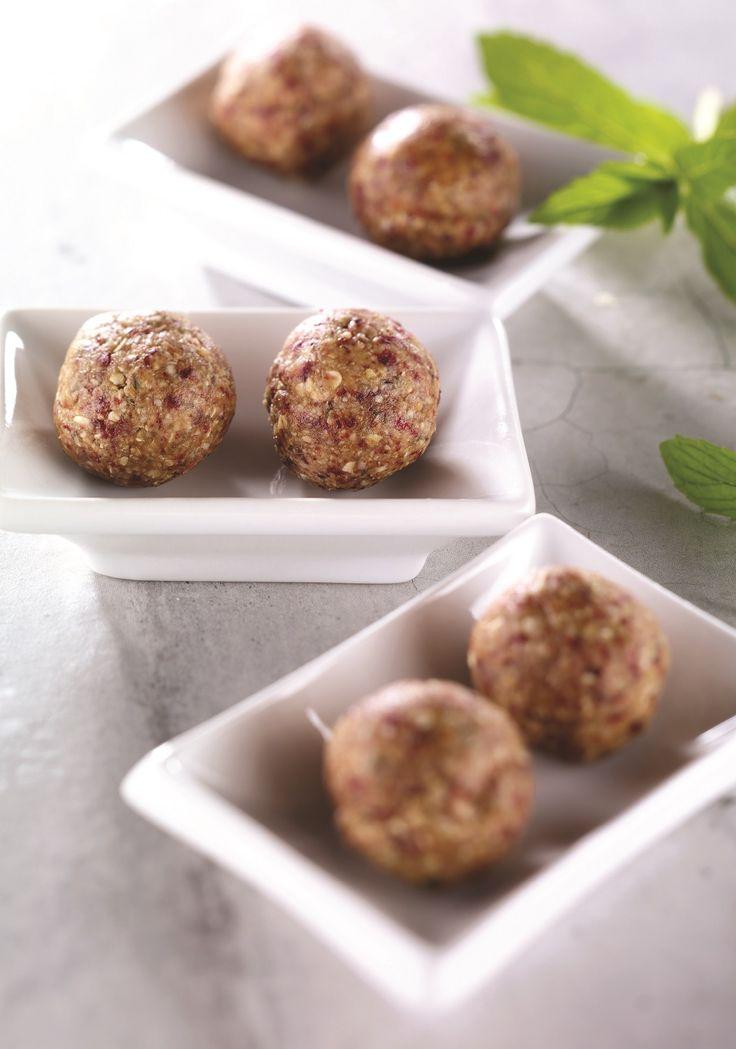 Recette NutriSimple Bouchées énergie au beurre d'arachide