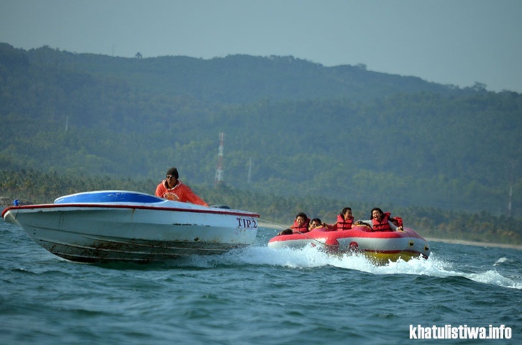 UFO Boat #watersport #pangandaran