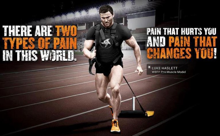 Pain is temporary.