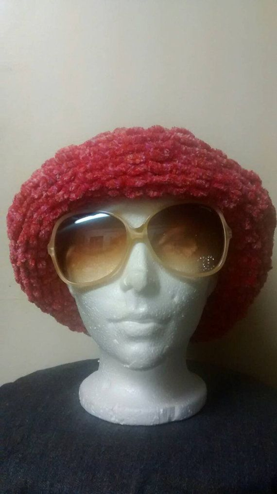 New  item in my Etsy shop https://www.etsy.com/ca/listing/257763514/fuzzy-pink-hat-hand-knitted-by-crazy