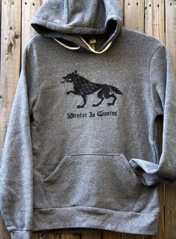 Winter Is Coming Hoodie ~ Game of Thrones by FencingNArchery on Etsy
