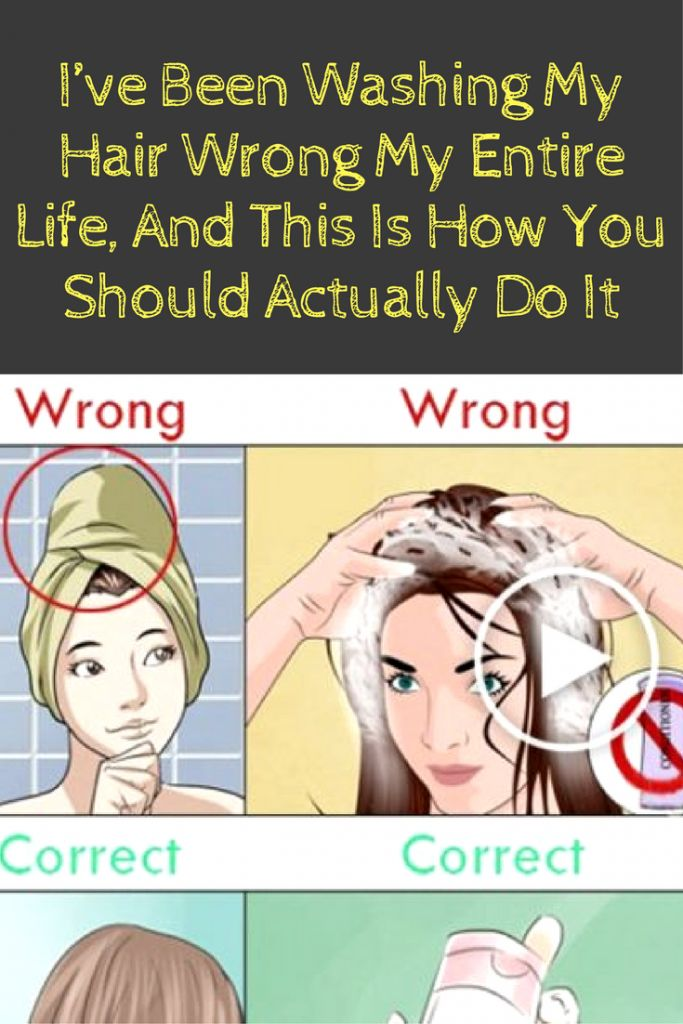 I've Been Washing My Hair Wrong My Entire Life, And This Is How You Should Actually Do It