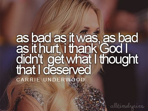 carrie underwood quote....I am truly blessed!