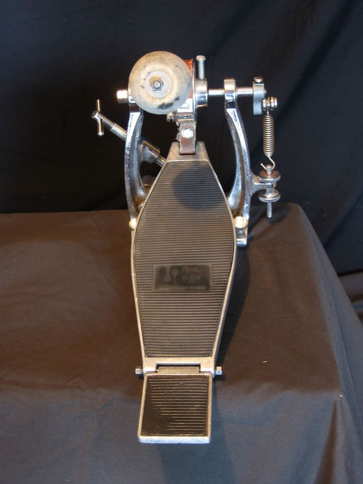 VINTAGE 1970's SONOR Z5317 MODEL BASS DRUM PEDAL STRAP DRIVE, A REAL FIND! #Sonor
