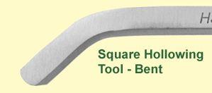 Токарные Square выдалбливающ Tool от Гамлета Craft Tools Шеффилда