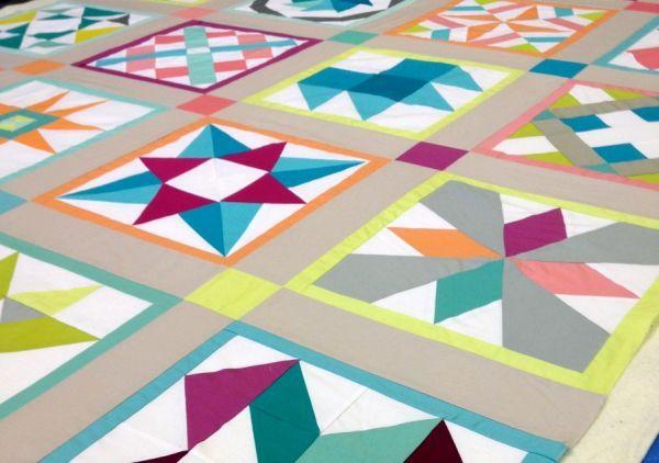 Modern Sampler Quilt   Quilts   Pinterest