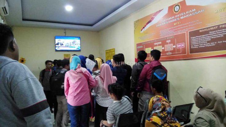 Pendaftaran CPNS Gelombang II Dibuka, Polrestabes Makassar Banjir Pemohon SKCK