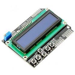 Günstiges LCD Shield mit 4 Tasten - Pinbelegung und Sketch für
