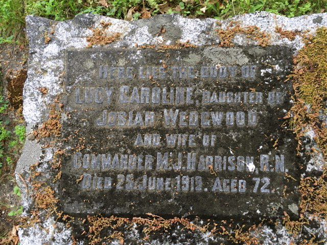Lucy Caroline Wedgwood Harrison (see Who We Are)