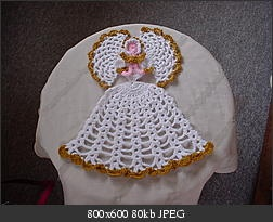 Click image for larger version    Name:	Chrinoline Ladies 002.jpg  Views:	254  Size:	80.0 KB  ID:	12958Christmas Crochet, Crochet Christmas, Angels Pattern, Christmas Angels, Crochet Crafts, Angels Watches, Angels Crochet, Crochet Crinoline, Crochet Angels