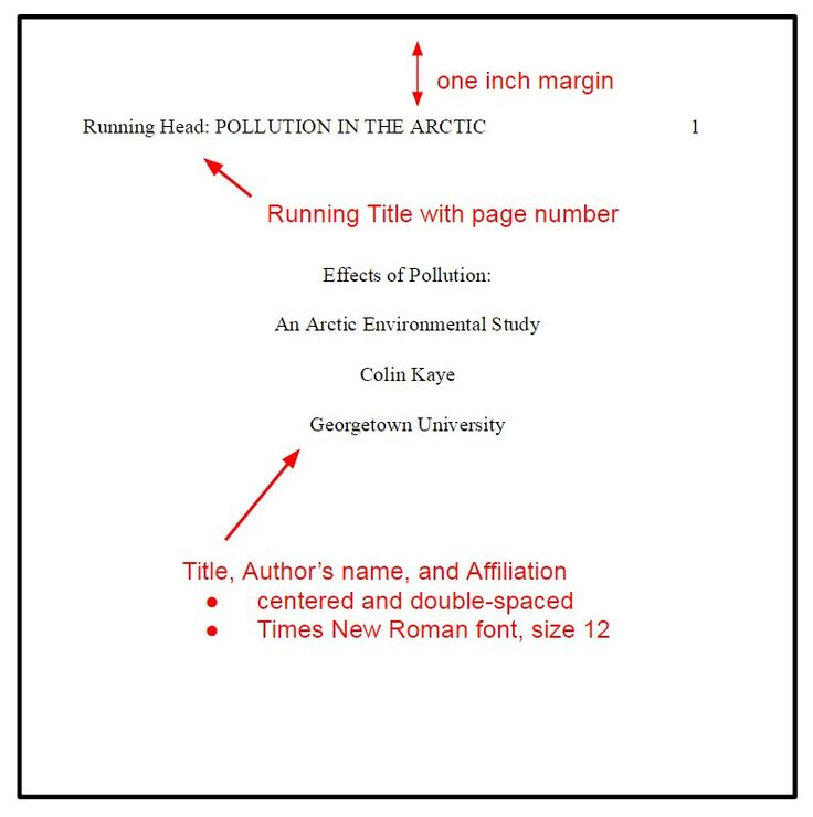 The 25+ best Apa format research paper ideas on Pinterest Apa - rhetorical precis template