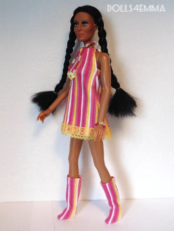 Mego CHER FARRAH Doll HM Clothes Mod DRESS BOOTS JEWELRY Fashion NO DOLL d4e | eBay