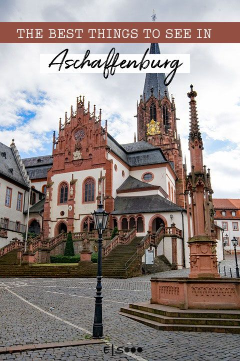 Wellness Aschaffenburg the best things to see in #aschaffenburg #germany | best of wellness