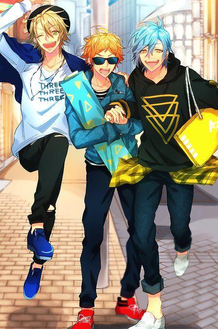 Ellos son personajes de ensemble star!??