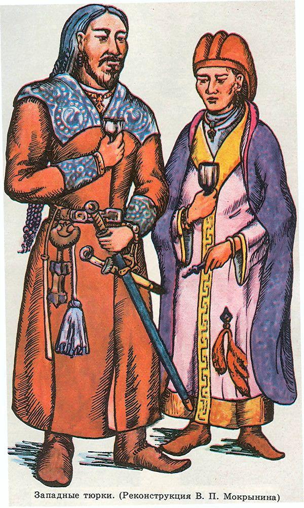 Kök Turk (Tujue) Nobles